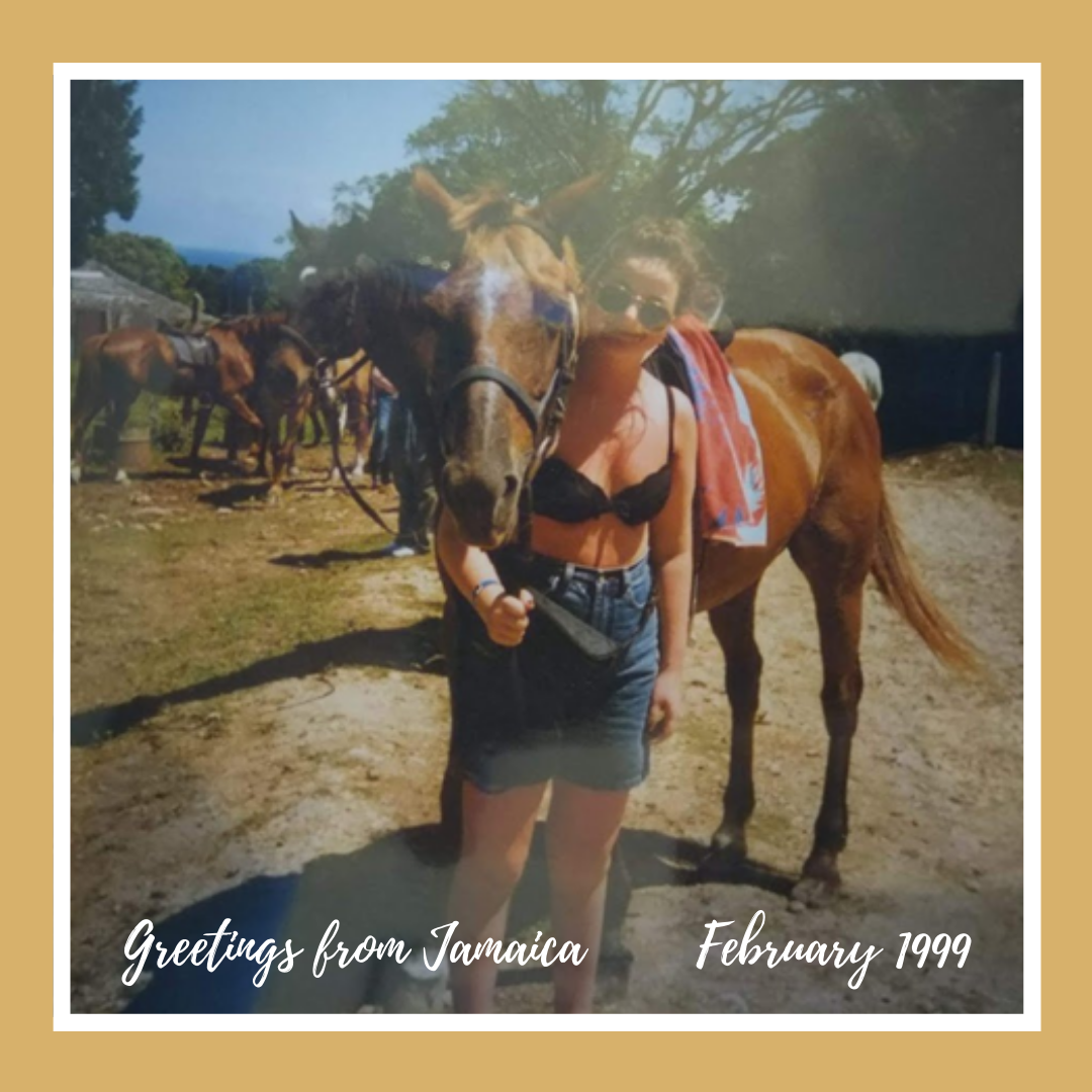 Taylor Made Equestrian Greetings from Jamaica