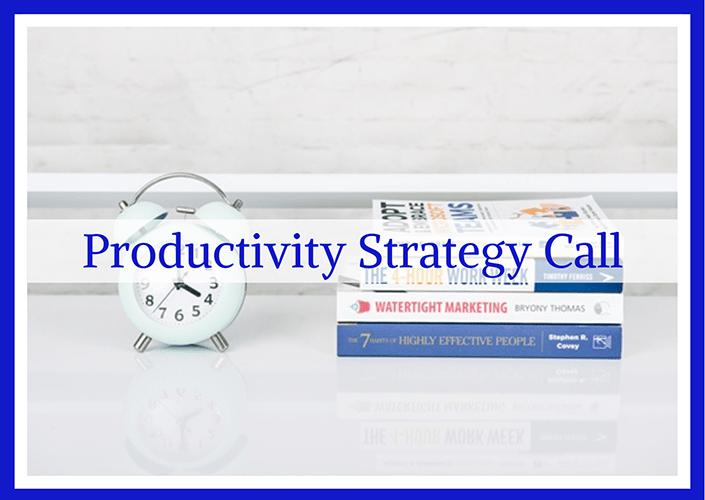 Taylor Made PA - Productivity Strategy Call